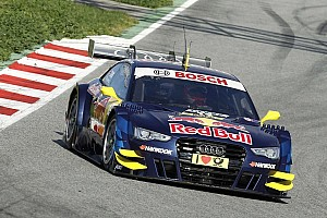 DTM Testing report Jamie Green sets the pace on day three