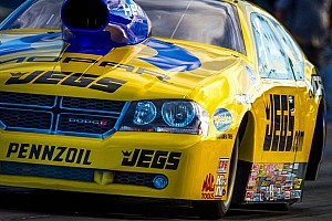 NHRA Preview Riding into town with his fastest car ever, Coughlin ready for more Vegas magic
