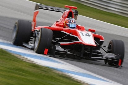 Ellinas quickest on first day of testing at Silverstone