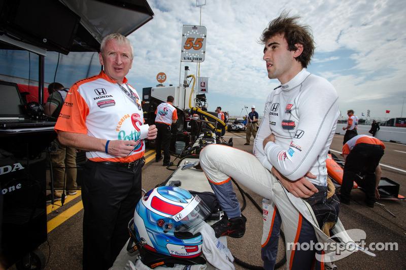 Roller coaster qualifying lands Vautier in 3rd at Barber