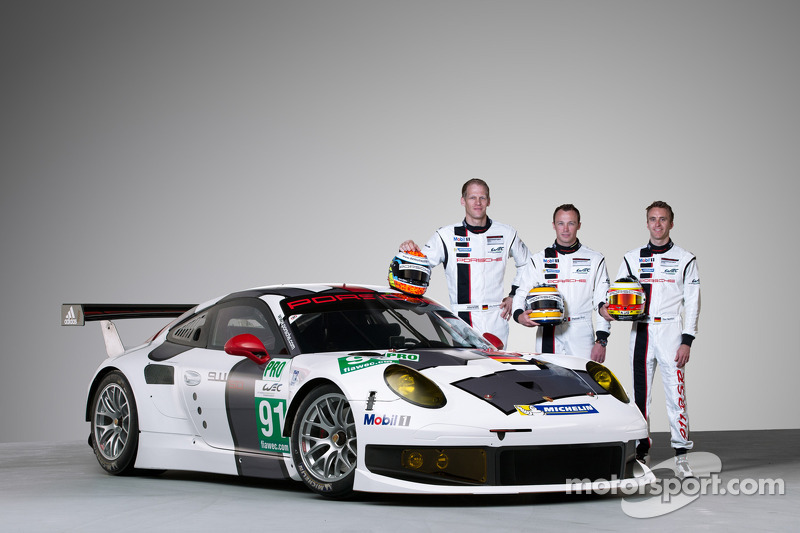 Race debut of the new Porsche 911 RSR on the Silverstone Circuit