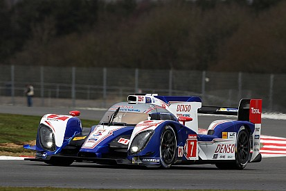 Toyota Racing locks out front row at Silverstone
