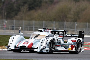 WEC Qualifying report Audi at Silverstone on second and third rows of the grid