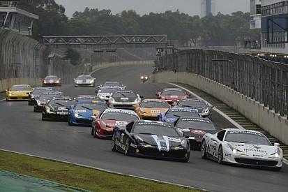 Valera and Farano split the Ferrari Challenge wins at Interlagos