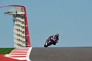 MotoGP Practice report Lorenzo, Rossi saw improvment on cold opening day at COTA in Texas