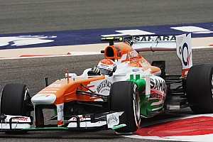 Formula 1 Qualifying report Top-ten qualifying for both Sahara Force India drivers at Sakhir