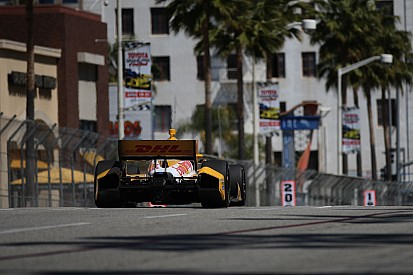 Andretti Autosport qualifying report for the Grand Prix of Long Beach