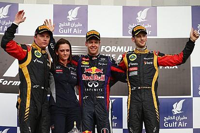 Podium finish for both Lotus F1 drivers at Bahrain