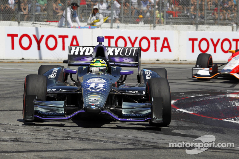Late contact ruins a dual top-ten finish for KV Racing Technology