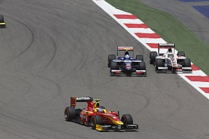 GP2 Race report Opening lap incident ruins the day for Fabio Leimer in Bahrain