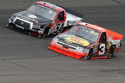 Richard Childress Racing teammates finished fourth and eighth on Kansas 250