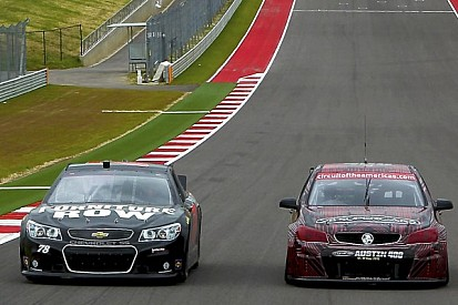 JC and Fabs swap cars with NASCAR and Supercross greats in Texas - Video