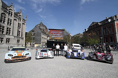 WEC wows Liege to promote the 6 Hours of Spa