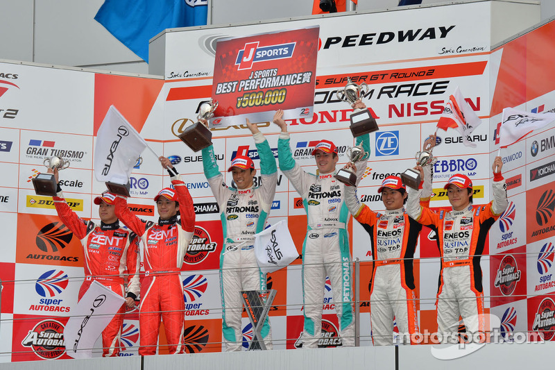 Petronas Tom's SC430 takes perfect pole-to-checkered win in Fuji