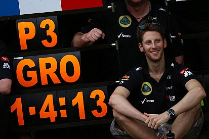 Grosjean 'can forget troubles now' - engineer