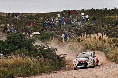 Loeb and Hirvonen in the mix after Day 1 of Rally Aargentina