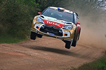 Loeb on top on second leg of Rally Argentina