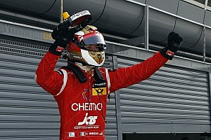 F3 Europe Race report Marciello walks on water in Hockenheim's first race