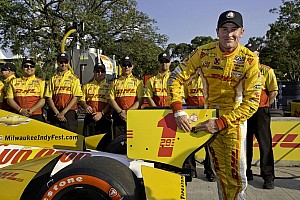IndyCar Qualifying report Hunter-Reay speeds to track record in Sao Paulo qualifying