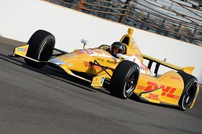 Kurt Busch gets up to speed at Indy in Andretti Autosport Chevrolet Dallara