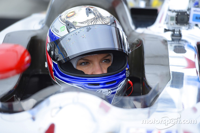 Katherine got her ride in Monterey – It's the DeltaWing!
