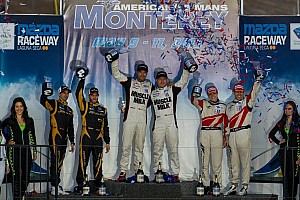 ALMS Race report Luhr sets victory record with Muscle Milk triumph in Monterey