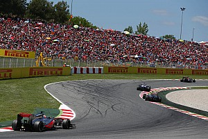 Formula 1 Race report Points for both McLaren's drivers at Spain