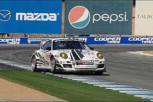 ALMS Race report Alex Job Racing third in GTC at Laguna Seca