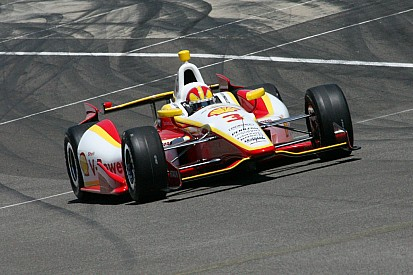 Another busy day for Helio Castroneves and Team Penske at Indy 500