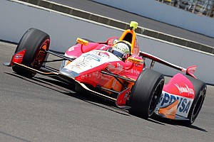 IndyCar Practice report Viso sets fastest lap on rain-shortened Fast Friday in Indianpolis