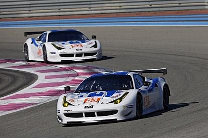 Ferrari and Lamborghini secure GTE and GTC pole positions in Imola
