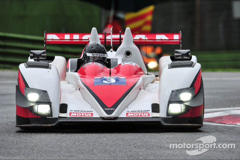 Brilliant drive by Hansson to fifth place at Imola