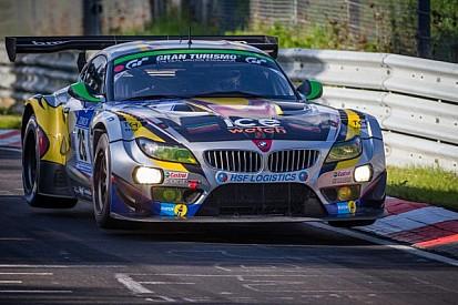 Podium for BMW Sports Trophy Team Marc VDS at the Nürburgring 24 Hours