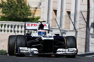 Formula 1 Practice report Maldonado and Bottas spent Thursday in Monaco evaluating both Williams cars