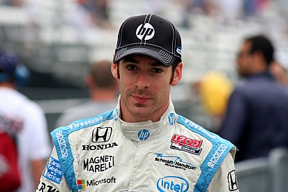 Pagenaud leads final practice, Castroneves' crew wins pit stop contest