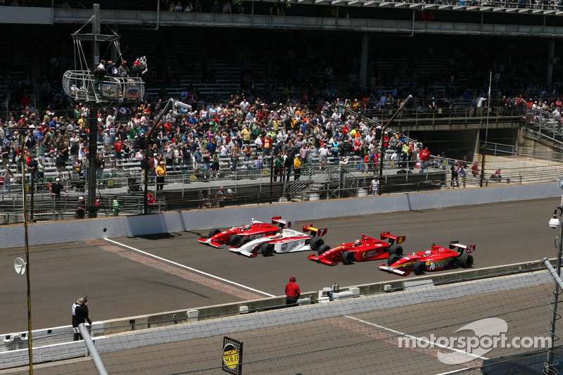 Dempsey wins thrilling Firestone Freedom 100 race at Indianapolis