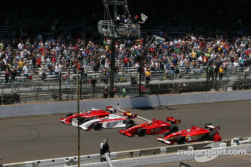 Peter Dempsey Wins Firestone Freedom 100 at Indianapolis Motor Speedway