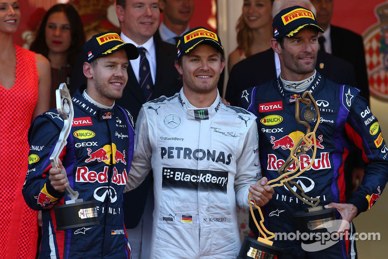 Red Bull placed two cars on the podium in Monaco