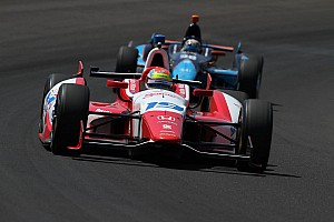 IndyCar Race report Justin Wilson leads Honda charge at Indianapolis with fifth place finish