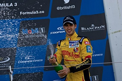 First F3 win for Giovinazzi in race 2 at Silverstone