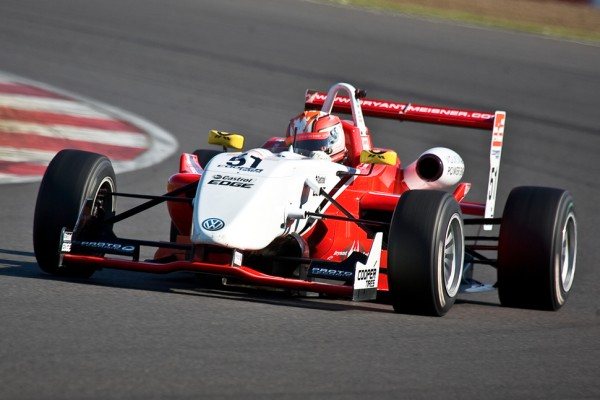 Bryant-Meisner again class of field at Silverstone