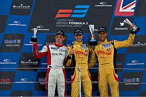 BF3 Race report Superb Silverstone weekend delivers first win of year for Double R