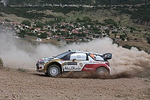 WRC Race report Khalid Al Qassimi shrugs off Acropolis setback to focus Italy