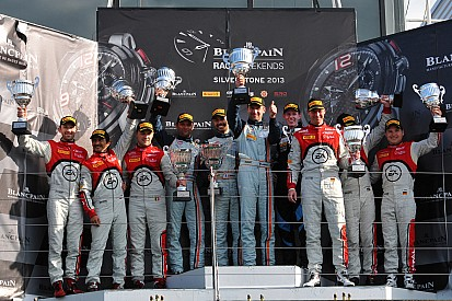 Aston Martin wins home BES round at Silverstone and takes podium in every class