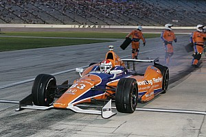 IndyCar Race report Kimball finishes 17th at Texas 550