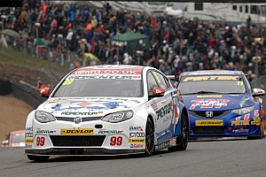 BTCC Race report Plato takes double win at Oulton, then catches fire!