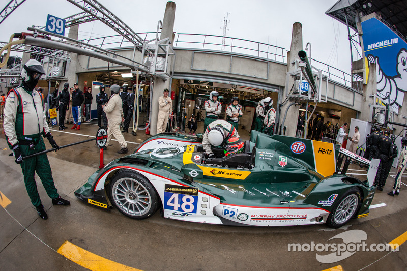 Four ORECA chassis in the top five