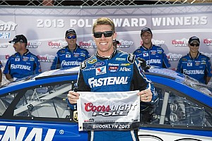 NASCAR Cup Qualifying report Edwards locks up pole at Roush's home track in Michigan