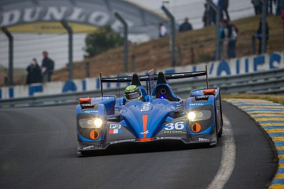 Alpine A450 and Panciatici in the starting blocks!