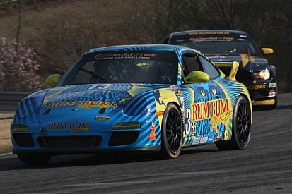 Plumb holds off Auberlen to score CTSCC victory for Rum Bum Racing in Mid-Ohio